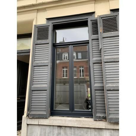 Toutes les fenêtres PVC coloris gris noir 7021