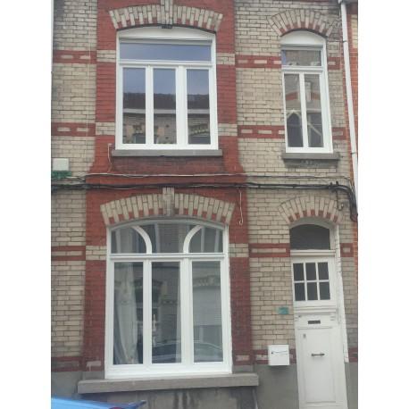 Fenêtres PVC blanches